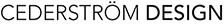 Cederström design Logotyp