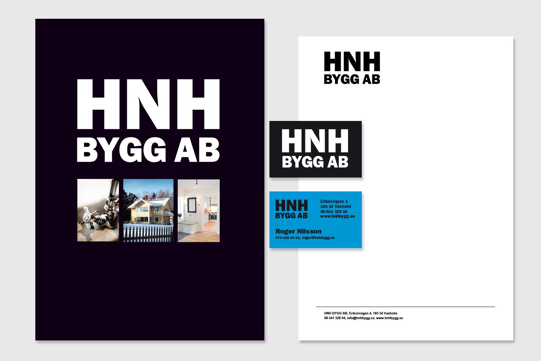 HNH Bygg grafisk profil