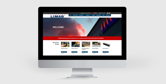 Hemsida limab.com